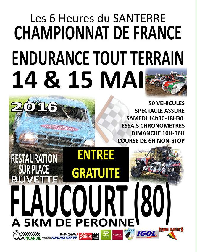 Affiche 6h TT Flaucourt