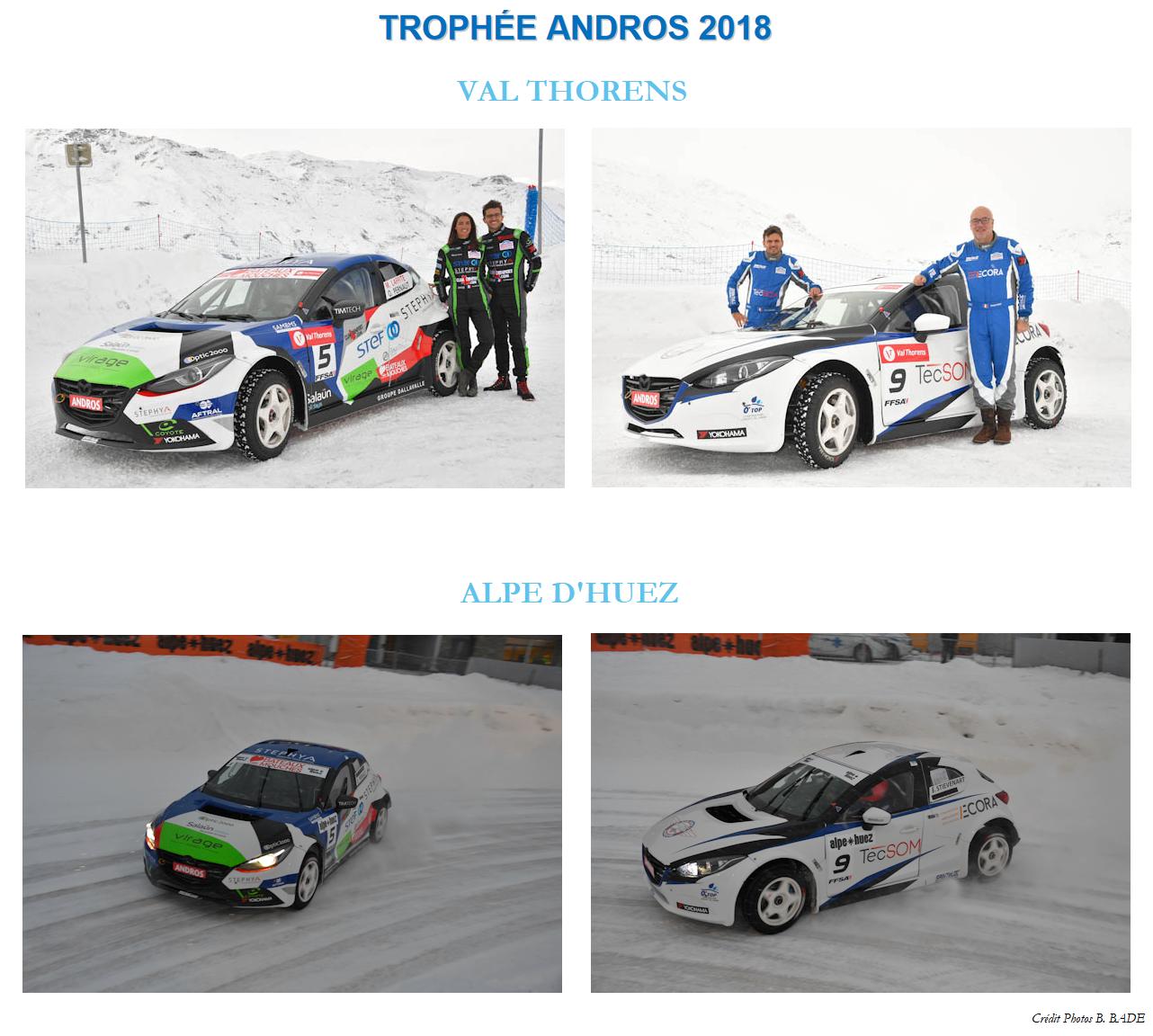 Trophée Andros 2018 Val Thorens Alpe d'Huez