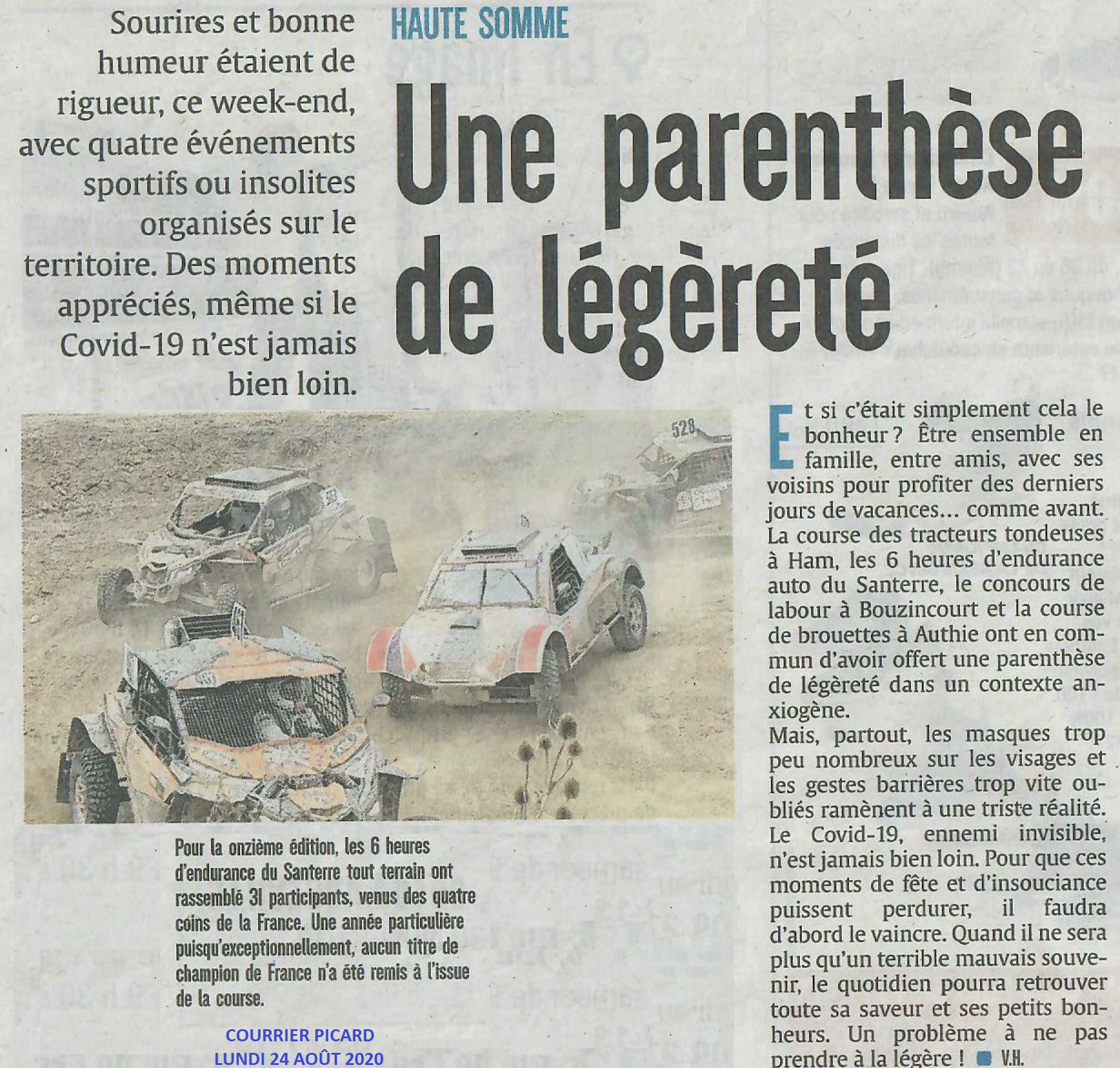 Courrier Picard 2020